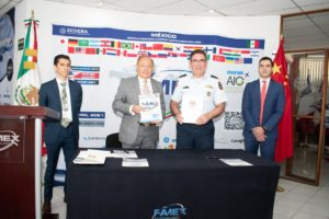 FAMEX (Mexico Aerospace Far) and MEXCHAM signed a collaboration agreement