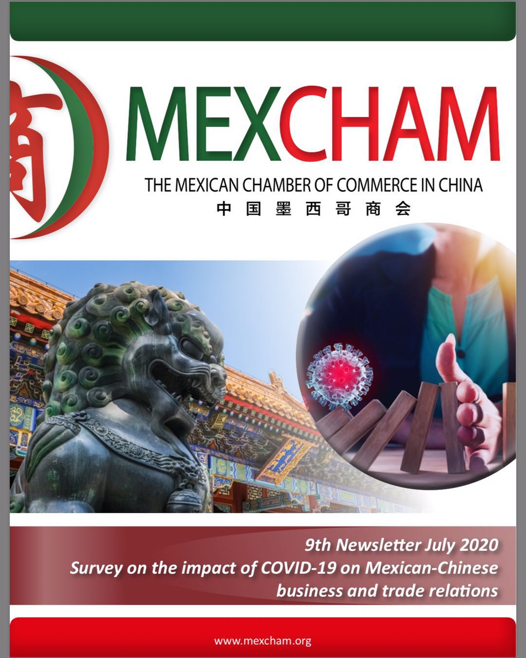 Release of MEXCHAM's Survey on the impact of COVID-19